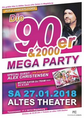 90er&2000er Mega Party - mit Alex Christensen (U96)