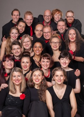 Bild: Jazzchor Freiburg - A Capella