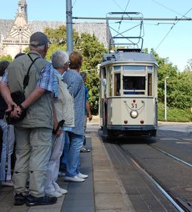 Bild: Historische Straßenbahn