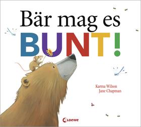 Bild: Gemeinsam in der Bibliothek - Bär mag es bunt! - Für Kinder von 3 bis 4 Jahren in Begleitung eines Erwachsenen