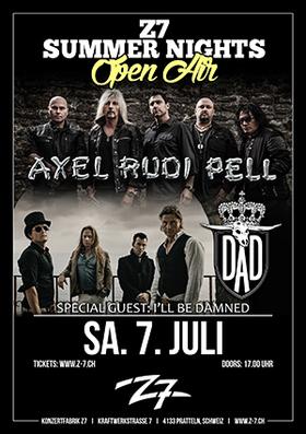 Bild: AXEL RUDI PELL / D.A.D. (Co-Headliner Konzert) - Z7 Summer Nights Open Air