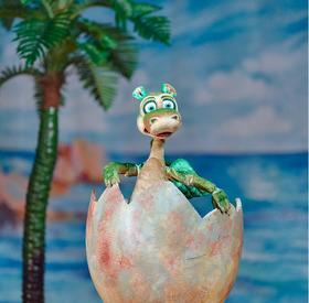 Bild: Die Complizen - Urmel schlüpft aus dem Ei - Figurentheater - Die Complizen