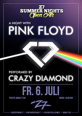CRAZY DIAMOND - THE PINK FLOYD TRIBUTE - Z7 Summer Nights Open Air