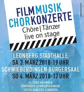 Bild: Filmmusik Chorkonzerte - El´Chor Höfingen, Tonträger Schwieberdingen, Siesta Dancers Leonberg