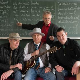 Bild: Winni Wittkopp & Skinny Winni Band mit Helmut Haberkamm - Gräschkurs Fränkisch