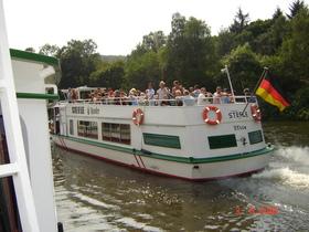 Bild: Schleusenfahrt Gelsenkirchen - Ab Anleger E/ Zweigertbrücke und GE/Nordsternpark