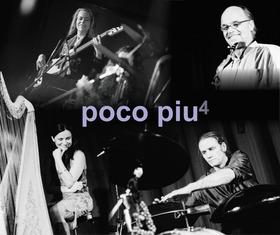 Bild: poco piu - Harfen Pop und Percussion Soul