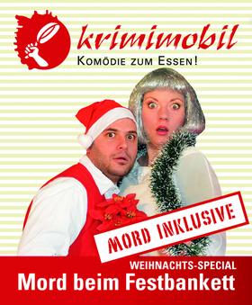 Weihnachts-Special: Mord beim Festbankett - Krimi & Dinner in der Friedrichstraße - Mord in der Friedrichstraße