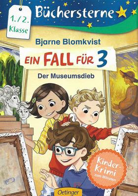 Bild: Vorlesen & Rätseln - Ein Fall für 3 - Der Museumsdieb - Für Kinder ab 6 Jahren