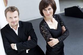 Bild: Franz Vitzthum (Countertenor) & Gertrud Wittkowsky (Zither) - STIMMEN 2018