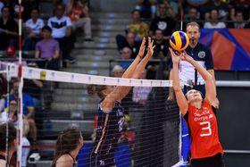 Volleyball-Länderspiel: Deutschland - Niederlande