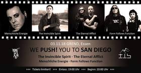 Bild: Invincible Spirit + The Eternal Afflict + Gäste - We Push! You to San Diego Festival
