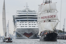 Bild: Mit Dampf zur 28.Hanse Sail nach Rostock und Warnemünde