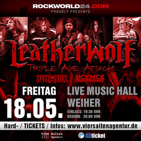 Leatherwolf - Triple Axe Attack Europe Tour 2018