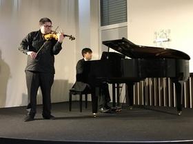 Bild: Konzert mit David & Marlen Malaev