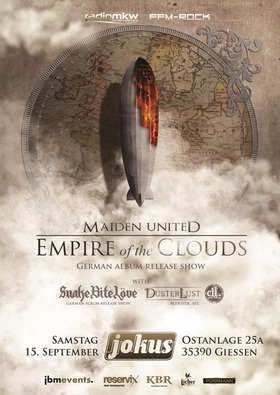 Bild: Maiden United + Special Guest - Empire Of The Cloud Tour