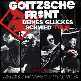 Bild: Goitzsche Front - Deines Glückes Schmied Tour