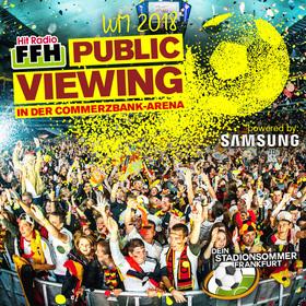 Bild: FFH-Public Viewing WM 2018 - Deutschland - Schweden