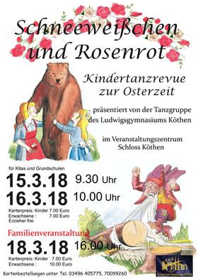 """Bild: Ostertanzrevue """"Schneeweißchen und Rosenrot"""" - Ostertanzrevue """"Schneeweißchen und Rosenrot"""""""