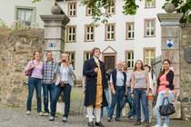 Bild: Stadtführung mit anschließender Begrüßung durch den jungen Goethe