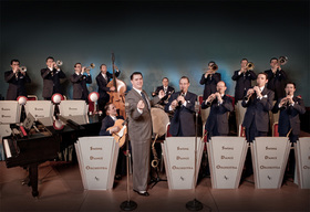 Bild: Andrej Hermlin & his Swing Dance Orchestra
