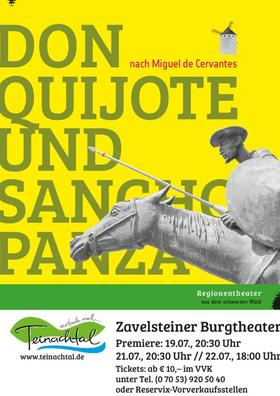 Bild: Zavelsteiner Burgtheater - Don Quijote und Sancho Panza