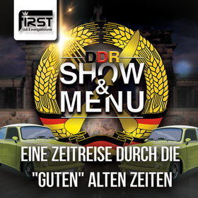 Bild: Show & Menü  - DDR Dinner - 12. September 2018