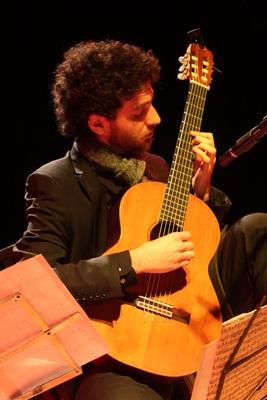 Bild: Gitarrenfestival Edersee: Sebastián Pecznik (Argentinien): Tango für Gitarre solo