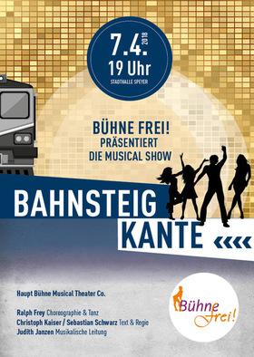 """Bild: Bahnsteigkante - Die """"Bühne frei""""-Musical Show"""