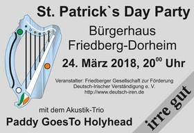 Bild: Paddy´s Day Party