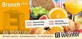 Bild: Brunch plus - Osterbrunch plus - Ostermontag, 02. April