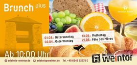 Bild: Brunch plus - Muttertagsbrunch plus - Muttertag, 13. Mai