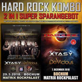 Bild: Hard Rock Kombi Ticket - Ammunition & Hardline Bochum