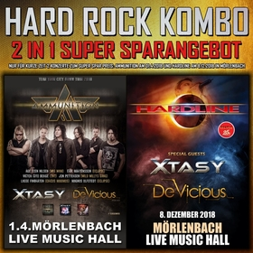Bild: Hard Rock Kombi Ticket - Ammunition & Hardline Mörlenbach