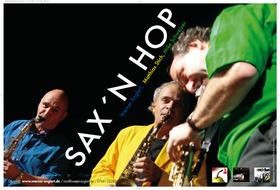 Bild: Saxophonkonzert unterm Himmel aus Glas - SAX´N Hop