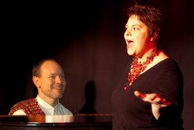 Bild: Kulturspiegelzelt: Karin FU und Patrick Gläser - Lady in Red