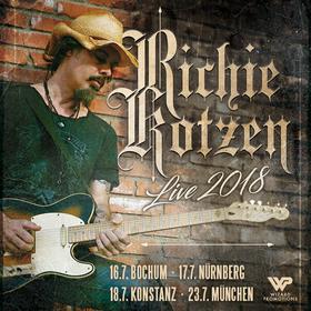 Bild: RICHIE KOTZEN - Live Tour 2018