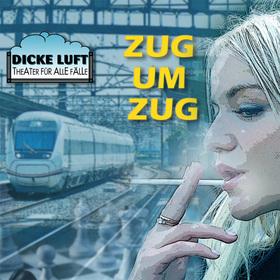 Bild: Dicke Luft Theater Speyer: Zug um Zug - Bewegende Szenen mit musikalischen Zwischenspielen von Norbert Franck