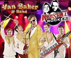 Bild: Van Baker & Band und DJ Team Kuhstall Rockers