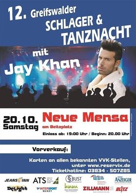 Bild: 12. Schlager & Tanznacht - DJ Putzi & Stargast Jay Kahn