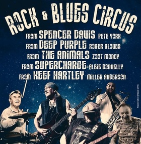 Pete York´s Rock & Blues Circus - mit Miller Anderson, Roger Glover, Zoot Money, Albie Donnelly