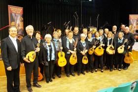 Bild: Feinkost für die Ohren - Frühjahrskonzert mit dem Mandolinenorchester Frechen
