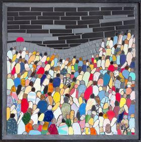 Bild: Von Krieg - Gewalt - Vertreibung zur Freiheit - Ausstellung der Kunstgemeinschaft