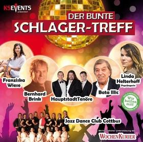 Bild: Der Bunte SCHLAGER-TREFF - Bernhard Brink, Bata Illic, Franziska Wiese, Hauptstadt Tenöre, Linda Helterhoff, JDCC