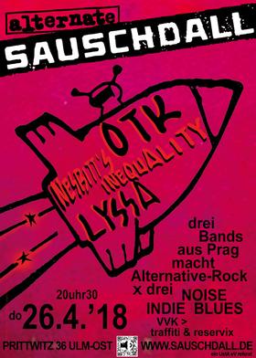 Bild: Konzert Lyssa, Otk & Nesbitt´s Inequality - Konzert
