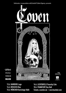 Bild: COVEN - First Shows in Germany EVER!