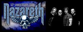 Nazareth - 50 jähriges Jubiläum - Europa Tour