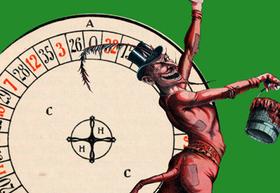 Bild: stille hunde: Das Literarische Roulette - Ritter, Tod und Teufel