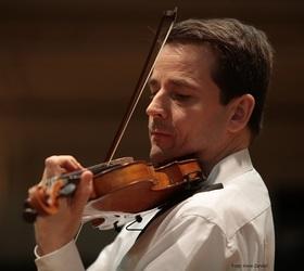Bild: Violinkonzert mit Lesung