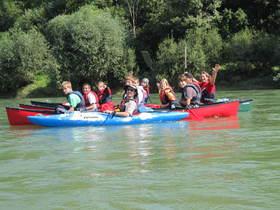 Bild: Kurs Nr. 034 Einer-Kajaktour für Einsteiger auf dem Rhein ab Bad Bellingen